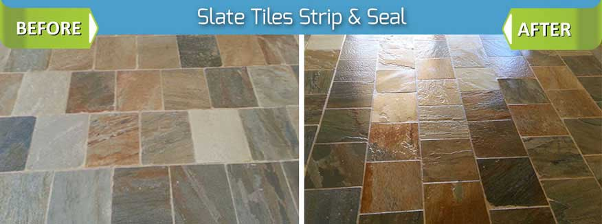 Slate Stripping, Cleaning & Sealing in Southern California | Stoneshine