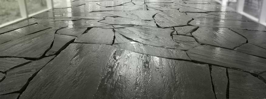 Slate stripping cleaning sealing in southern california stoneshine having a natural stone care maintenance program can save you thousands of dollars in the long run solutioingenieria Images