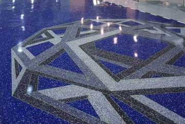 Terrazzo Floor Polishing Sealing In Southern California