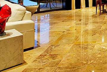 Marble And Travertine Polishing Honing In Southern California - Sealing honed marble floors